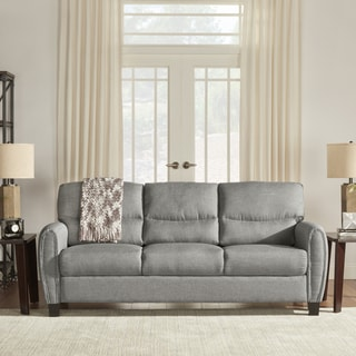 INSPIRE Q Dillion Urban Ellipse Arm Comfort Upholstered Sofa