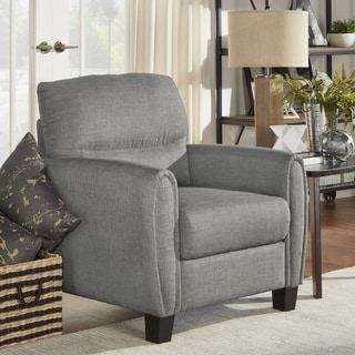 INSPIRE Q Dillion Urban Ellipse Arm Comfort Upholstered Chair