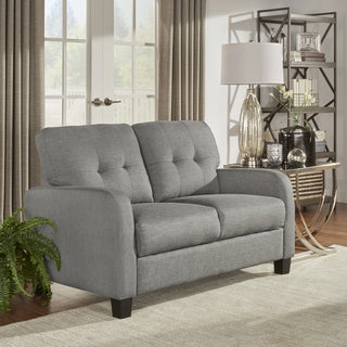 INSPIRE Q Dillion Urban Track Arm Tufted Loveseat