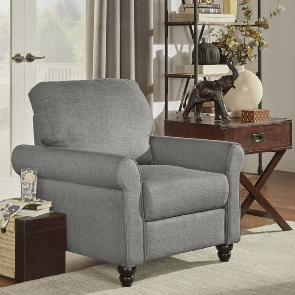 Shop Inspire Q Dillion Urban Rolled Arm Upholstered Chair