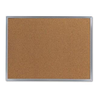 Universal 24 x 18 Natural Cork Bulletin Board (Pack of 2)