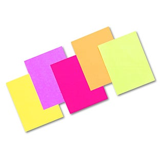 Pacon Array Assorted Hyper Colors 24 lb Colored Bond Paper (Pack of 500 Sheets)