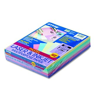Pacon Array Assorted Pastels 20lb Colored Bond Paper (Pack of 500 Sheets)