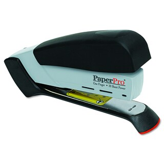 PaperPro Black/Grey Desktop Stapler