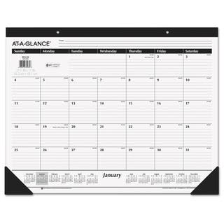 AT-A-GLANCE Ruled Desk Pad, 22 x 17, 2018|https://ak1.ostkcdn.com/images/products/10376430/P17482267.jpg?impolicy=medium