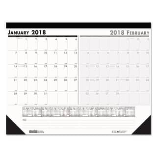 House of Doolittle Recycled Two-Month Desk Pad, 22 x 17, 2018|https://ak1.ostkcdn.com/images/products/10376435/P17482263.jpg?impolicy=medium
