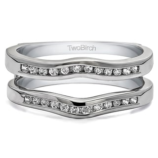 wedding ring wraps guards - Silver Wedding Ring