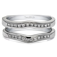 Diamond Wedding Ring Wraps & Guards