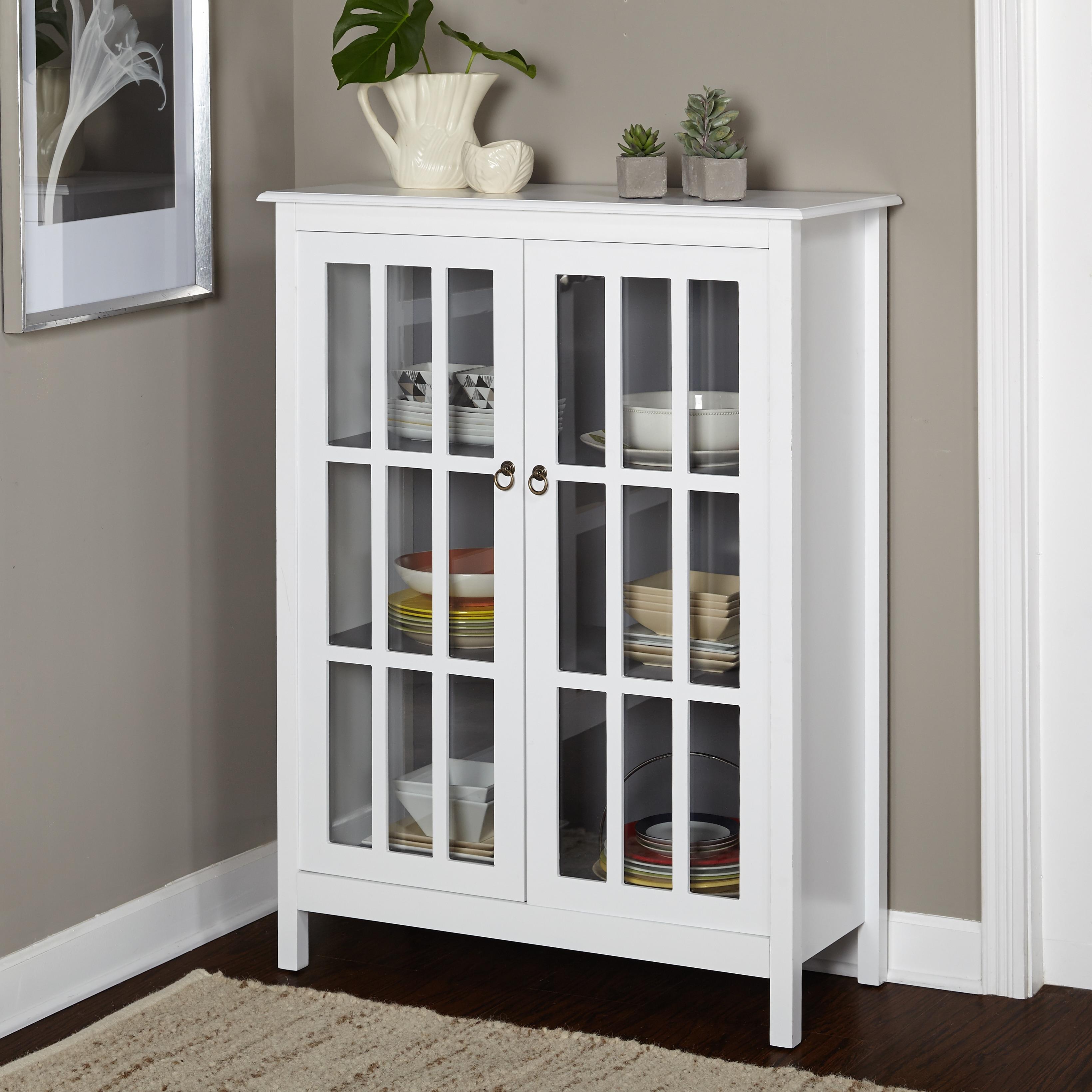 Simple Living Portland Window Pane Cabinet (Portland Tall...