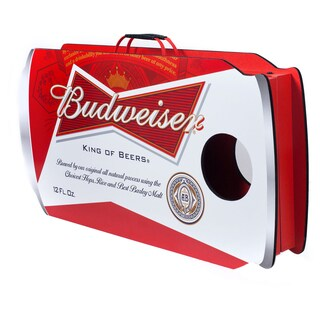 Budweiser Can Cornhole Bean Bag Toss Game