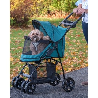 Pet Gear Happy Trails Lite No-zip Pet Stroller