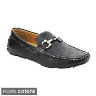 J'S AWAKE BOSTON-24 Men's Comfort Driving Moccasin Style Slip-on Loafers