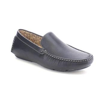 J's Awake Owen-6 Men's Comfort Driving Moccasin Style Slip On Loafers