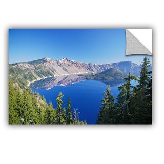 ArtWall Dan Wilson ' Crater Lake ' Art Appealz Removable Wall Art