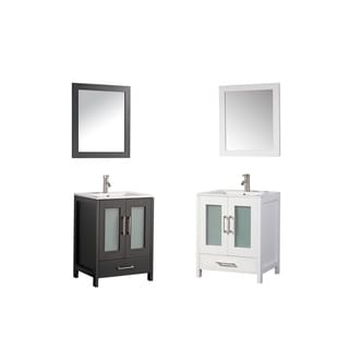 MTD Vanities Argentina 30-inch Single Sink Bathroom Vanity Set with Mirror and Faucet