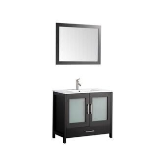 MTD Vanities Argentina 36-inch Single Sink Bathroom Vanity Set