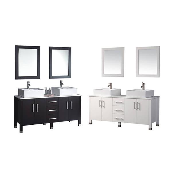 Shop Mtd Vanities Aruba 71 Inch Double Sink Bathroom