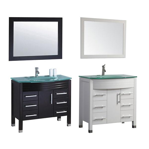 Mtd Vanities Figi 36 Inch Single Sink Bathroom Vanity Set