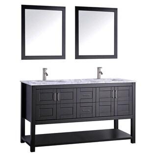 Norway 72-inch Double Sink Bathroom Vanity Set