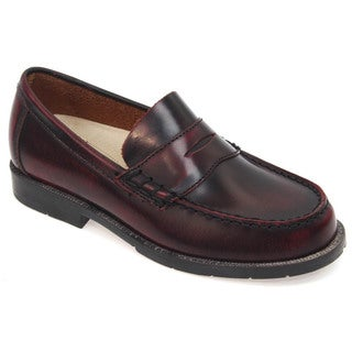 Academie Gear Boys Josh Leather Penny Loafer