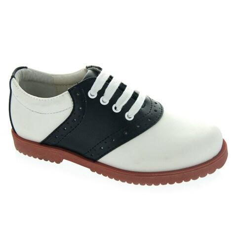 Academie Gear Women's Leather Honor Roll School Shoe