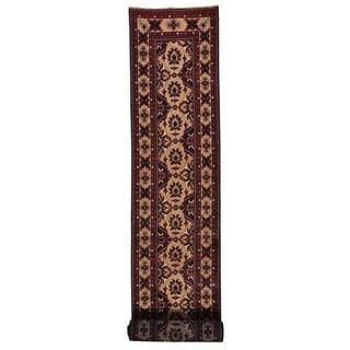 Handmade XL Runner Fine Khamyab Oriental Rug (2'10 x 18'10)