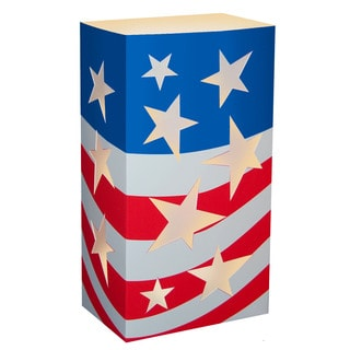 Americana Paperboard Lanterns (Pack of 12)