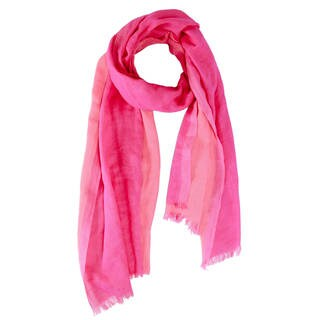 Handmade Saachi Women's Reversible Cotton Scarf (India)