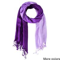 Handmade Saachi Women's Ombre Scarf (India)