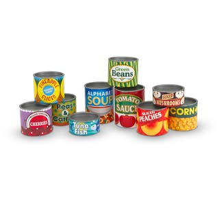 Melissa & Doug Let's Play House! Grocery Cans|https://ak1.ostkcdn.com/images/products/10379117/P17484599.jpg?impolicy=medium