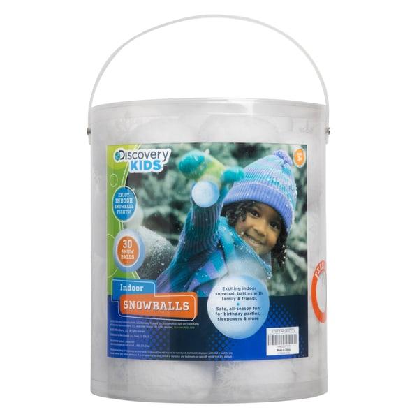Discovery Kids 30-piece Indoor Snowballs