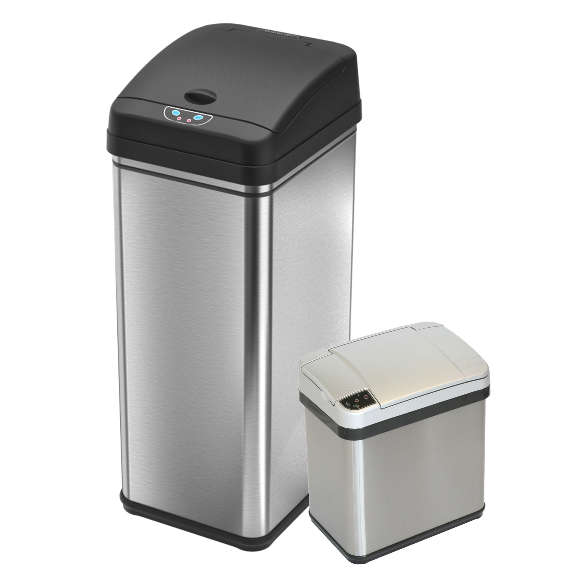 iTouchless Multifunction Sensor Trash Can Combo Cdzt 2-pi...