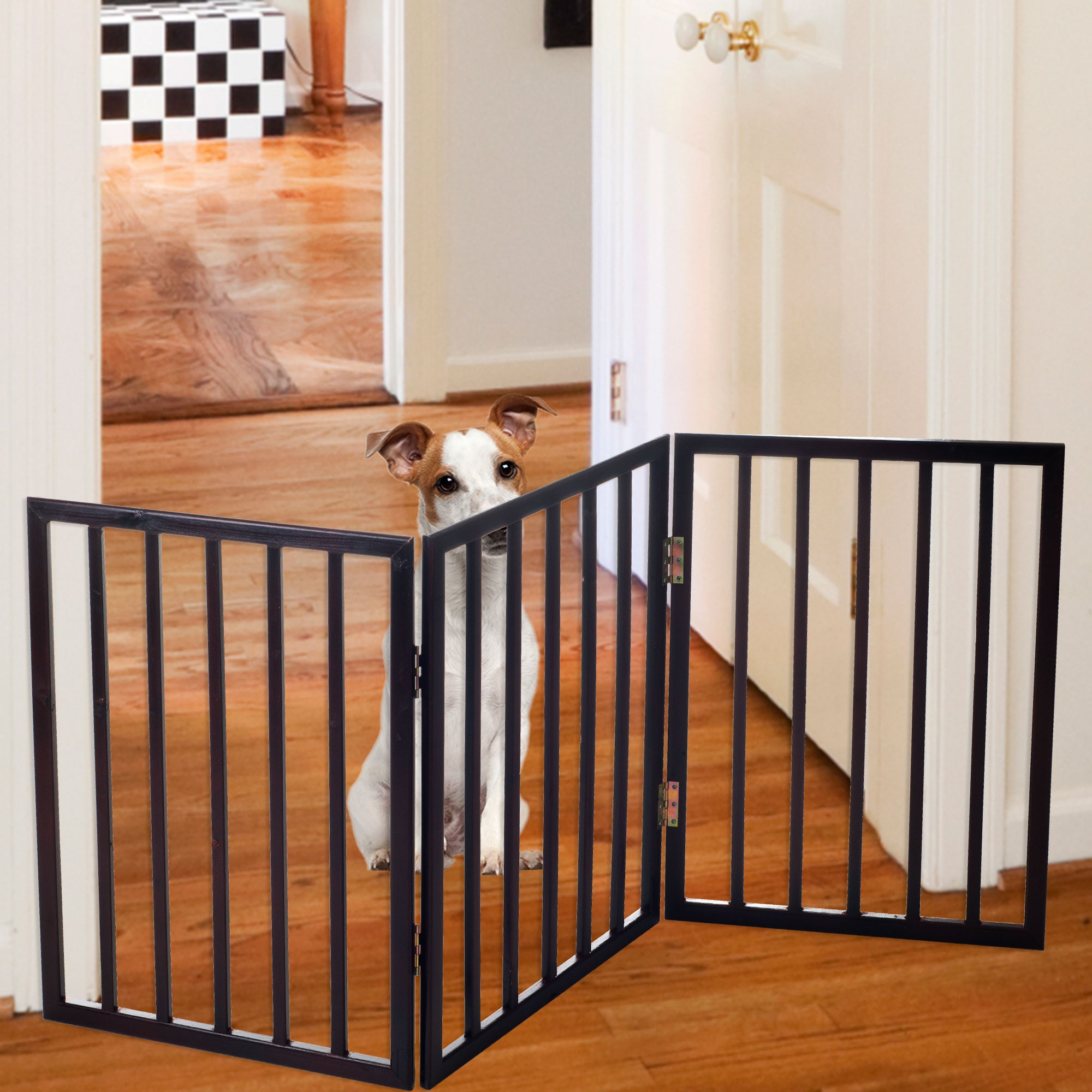 Easy-Up Free Standing Folding Gate by PAW (Folding Gate),...