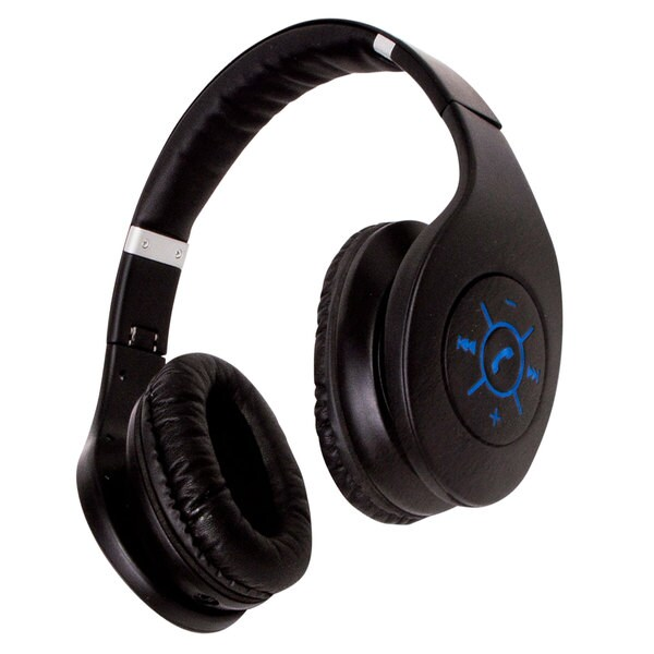 af759d3acdc Shop Bluetooth Foldable Stereo Headphones by Sunbeam - Free Shipping ...