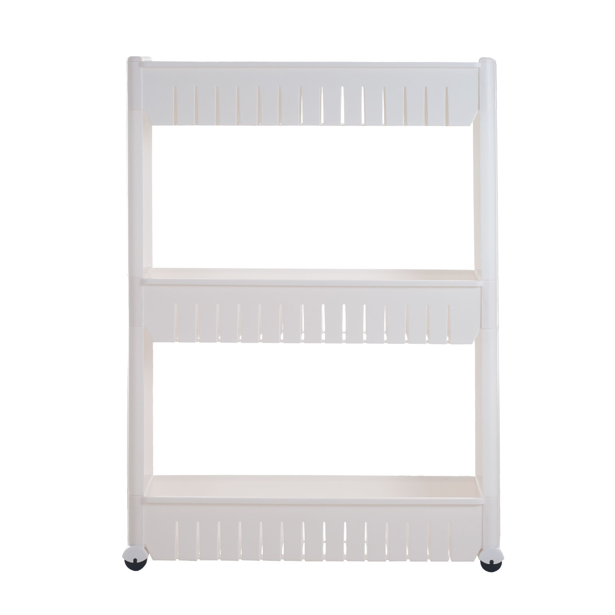 Chef Buddy Mobile Shelving Unit Organizer with 3 Large St...