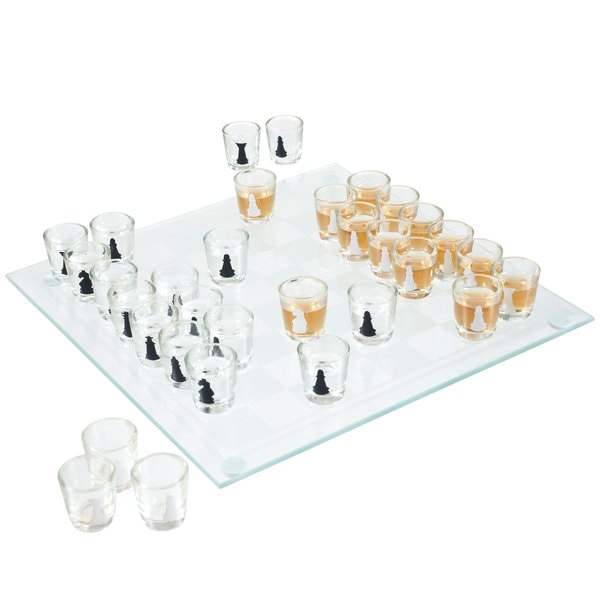 Shot Glass Drinking Game Chess Set