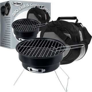 Chef Buddy Portable Grill and Cooler Combo