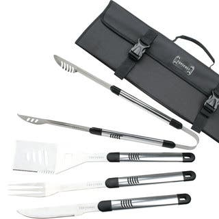 Top Chef Stainless Steel BBQ 5-piece Set|https://ak1.ostkcdn.com/images/products/10379312/P17484799.jpg?impolicy=medium