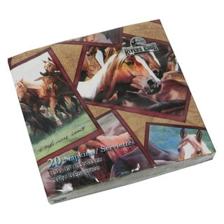 Napkins Horse (Pack of 20)