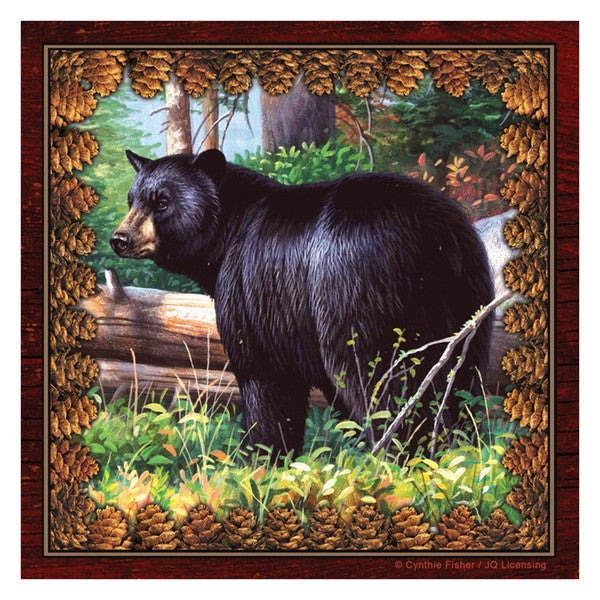 Rivers Edge Products Napkins Bear (Pack of 20)