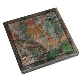 Rivers Edge Products Napkins Camo (Pack of 20)