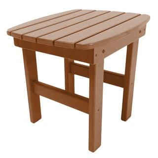 Adirondack Side Table in a Cedar Finish