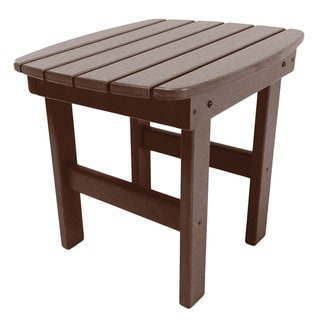 Adirondack Side Table in a Chocolate Finish