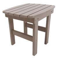 Adirondack Side Table in a Weatherwood Finish