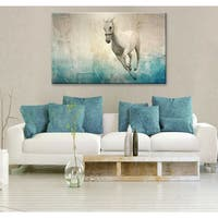 Clay Alder Home 'Equestrian Saddle Ink PSVIII' Canvas Wall Art
