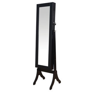 Hylda Jewelry Armoire, Black