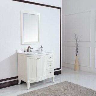 Eviva Odessa Z. 36-inch White Bathroom Vanity