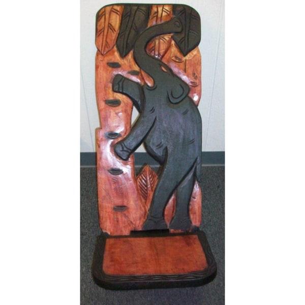 Odum Wood African Reclining Chair (Ghana)