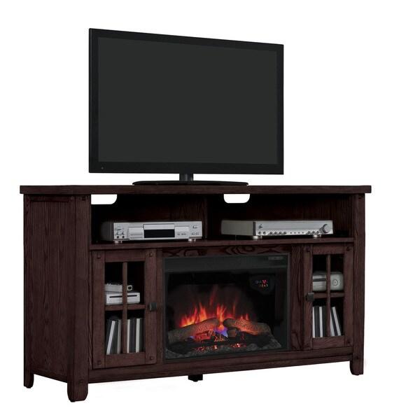 Shop New Dakota 26 Inch Indoor Premium Oak Electric