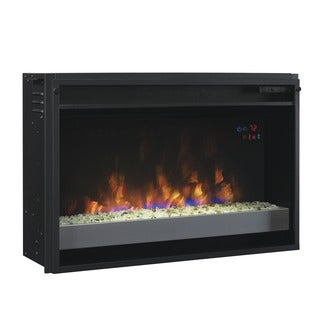ClassicFlame 26EF031GPG-201 26-inch Contemporary Electric Fireplace Insert with Safer Plug